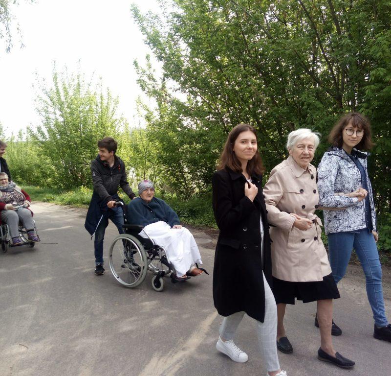Z wizytą u Seniorów