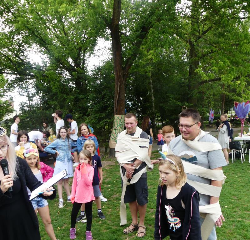 Święto szkoły uczniów klas 4-8 i III 08.06.2019 r.