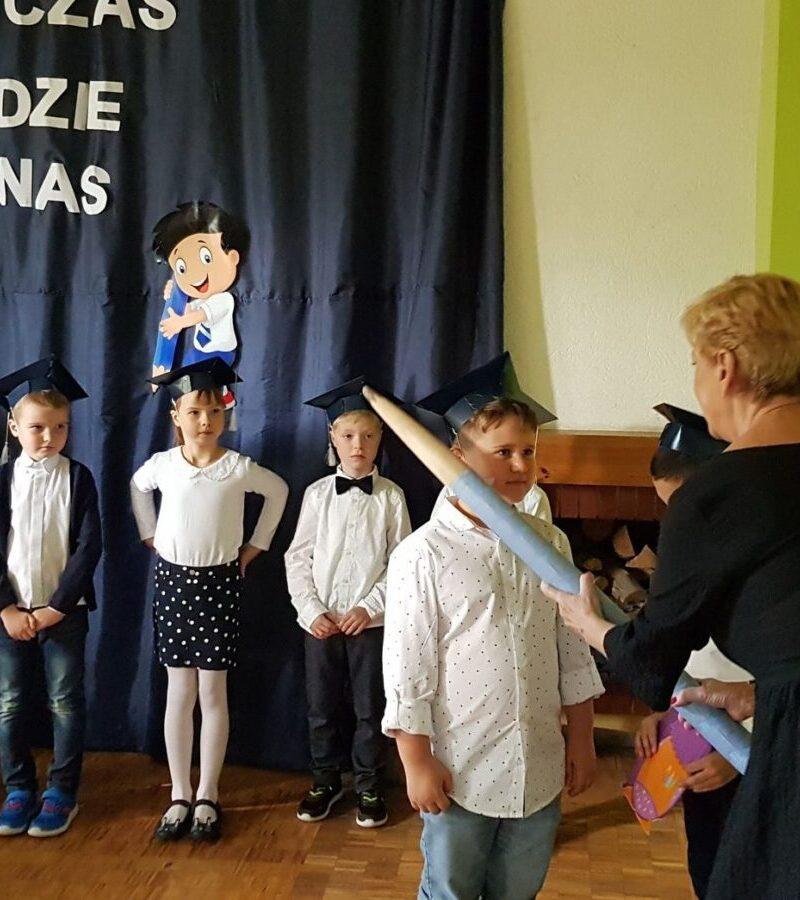 Uroczystość pasowania na uczennicę / ucznia 12.10.2021 r.